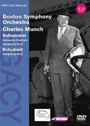 Rent Schumann: Genoveva Overture; Symphony No.2 / Schubert: Symphony No.5 Online DVD Rental