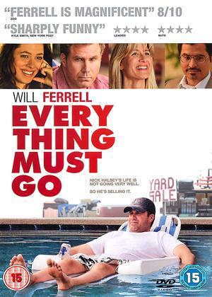 Rent Everything Must Go Online DVD Rental