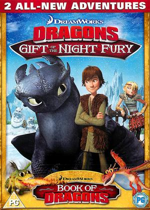 Rent Dreamworks Dragons: Gift of the Night Fury / Book of Dragons Online DVD Rental