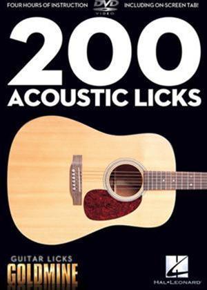 Rent 200 Acoustic Licks Online DVD Rental