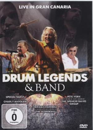 Rent Drum Legends and Band: Live in Gran Canaria Online DVD Rental