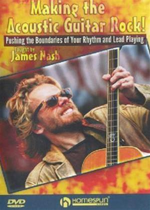 Rent Making the Acoustic Guitar Rock! Online DVD Rental