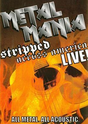 Rent Metal Mania: Stripped Across America Online DVD Rental