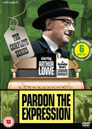 Rent Pardon the Expression: Series Online DVD Rental