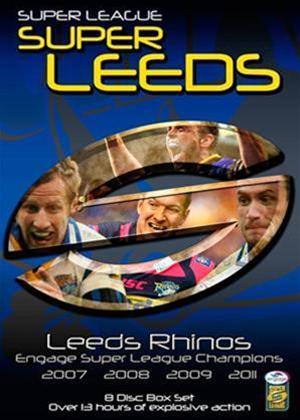 Rent Leeds Rhinos: Engage Super League Champions '07/'08/'09/'11 Online DVD Rental