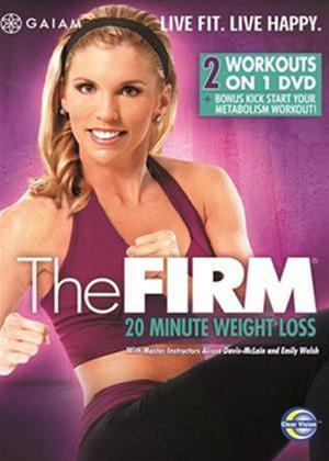 Rent The Firm: 20 Minute Weightloss Online DVD Rental