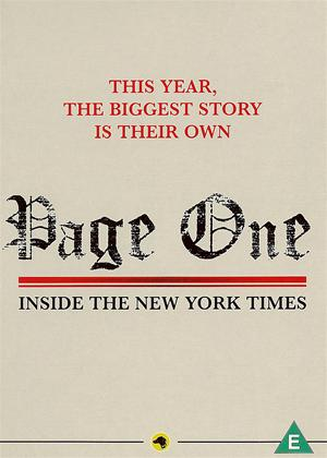Rent Page One: Inside the New York Times Online DVD Rental