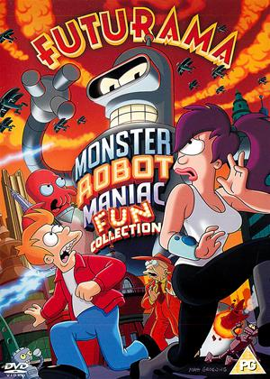 Rent Futurama: The Monster Robot Maniac Fun Collection Online DVD & Blu-ray Rental