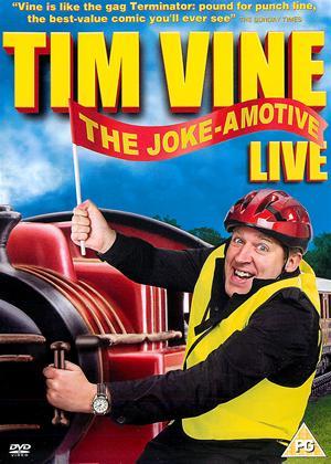 Rent Tim Vine: Joke-Amotive Online DVD Rental