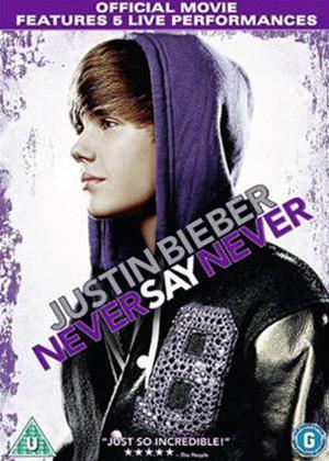 Rent Justin Biever: Never say Never Ultimate Directors Fan Cut Online DVD Rental