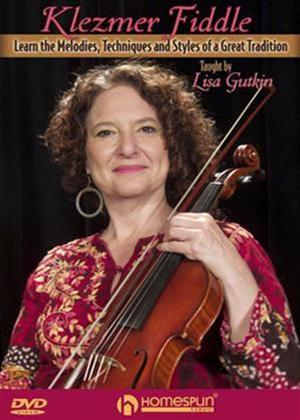 Rent Klezmer Fiddle Taught by Lisa Gutkin Online DVD Rental