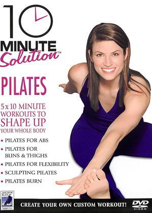 Rent 10 Minute Solution: Pilates Online DVD Rental