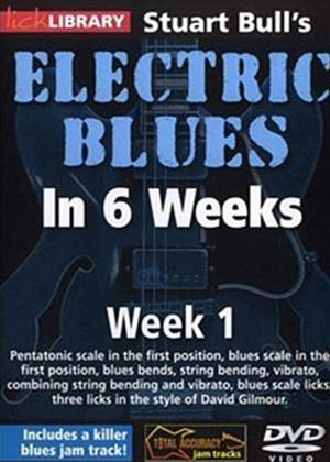 Rent Electric Blues in 6 Weeks with Stuart Bull: Week 1 Online DVD Rental