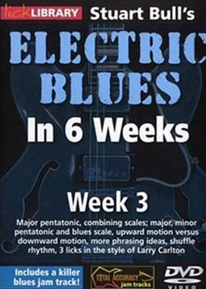 Rent Electric Blues in 6 Weeks with Stuart Bull: Week 3 Online DVD Rental