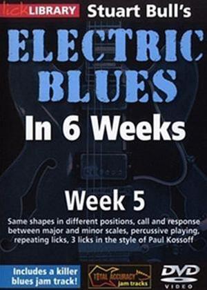 Rent Electric Blues in 6 Weeks with Stuart Bull: Week 5 Online DVD Rental