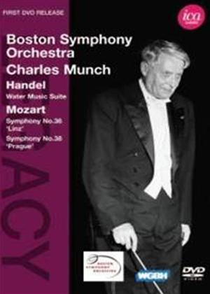 Rent Charles Munch: Handel/Mozart (Boston Symphony Orchestra) Online DVD Rental