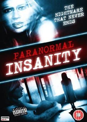 Rent Paranormal Insanity Online DVD Rental