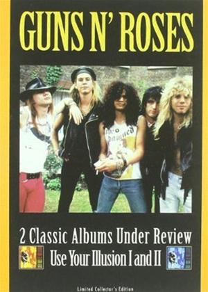 Rent Guns n' Roses: Under Review: Use Your Illusion 1 and 2 Online DVD Rental