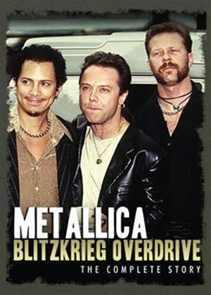 Rent Metallica: Blitzkrieg Overdrive Online DVD Rental