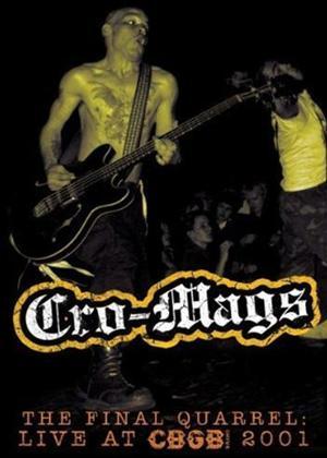 Rent Cro-Mags: Final Quarrel: Live at CBGB 2001 Online DVD Rental