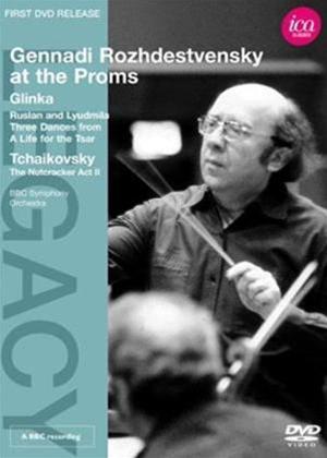 Rent Rozhdestvensky at the Proms: Glinka/Tchaikovsky Online DVD Rental