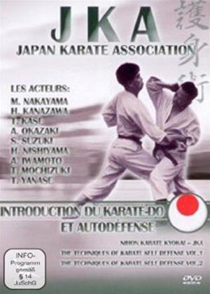 Rent JKA Japan Karate Association: Introduction Du KaratE-Do Et AutodeFen Online DVD Rental