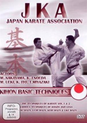 Rent JKA Japan Karate Association: Kihon Basic Techniques Online DVD Rental