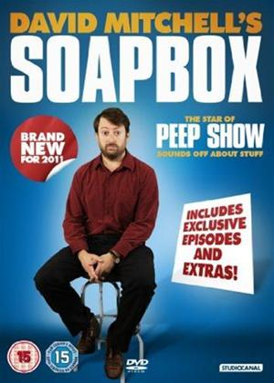 Rent David Mitchell's Soap Box Online DVD Rental