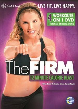 Rent The Firm: 12 Minute Calorie Blast Online DVD Rental