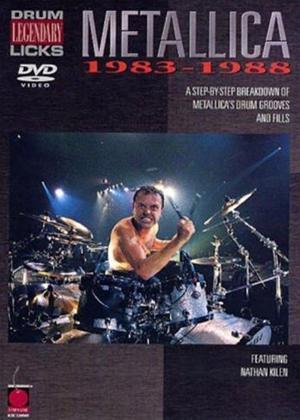 Rent Legendary Drum Licks: Metallica 1983-88 Online DVD Rental