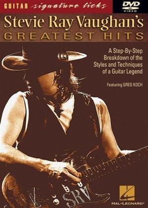 Rent Greg Koch: Stevie Ray Vaughan's Greatest Hits: Guitar Signature Licks Online DVD Rental