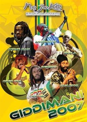 Rent Giddimani: Live Reggae Online DVD Rental