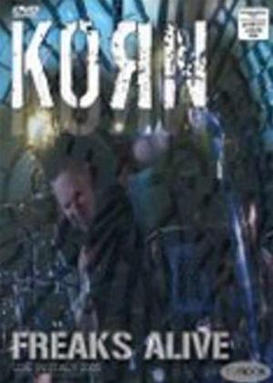 Rent Korn: Freaks Alive Online DVD Rental