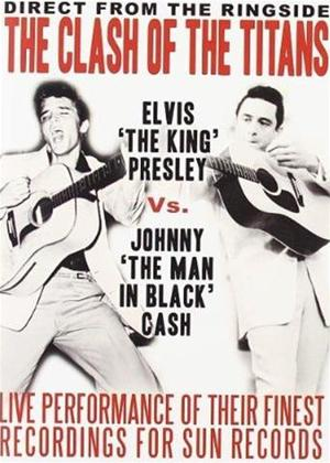 Rent Elvis Presley and Johnny Cash: The Clash of The Titans Online DVD Rental