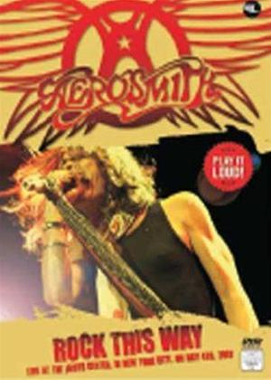 Rent Aerosmith: Rock This Way Online DVD Rental