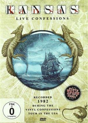 Rent Kansas: Live Confessions Usa '82 Online DVD Rental
