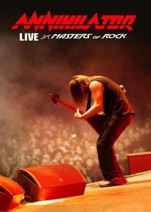 Rent Annihilator: Live at Masters of Rock Online DVD Rental