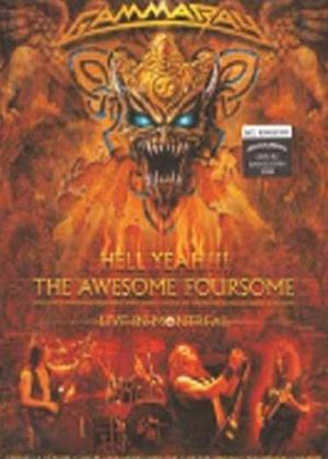 Rent Gamma Ray: Hell Yeah: The Awesome Foursome Online DVD Rental