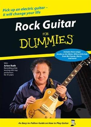 Rent Rock Guitar for Dummies Online DVD Rental