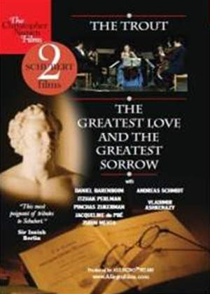 Rent Schubert: The Trout/The Greatest Love and the Greatest Sorrow (aka Die Forelle; La Truite) Online DVD Rental