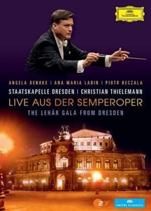 Rent The Lehar Gala: Dresden State Opera (Thielemann) Online DVD Rental