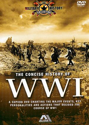 Rent The Concise History of WWI Online DVD Rental