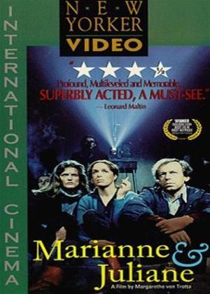 Rent The German Sisters (aka Die Bleierne Zeit) Online DVD Rental