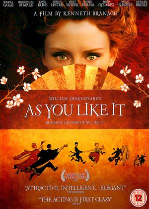 Rent As You Like It Online DVD Rental