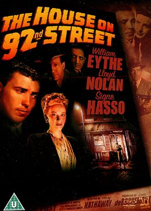 Rent The House on 92nd Street Online DVD Rental