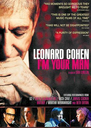 Rent Leonard Cohen: I'm Your Man Online DVD Rental