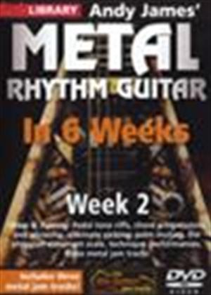 Rent Andy James' Metal Rhythm Guitar in 6 Weeks: Week 2 Online DVD Rental