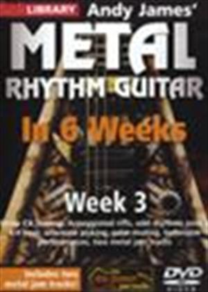 Rent Andy James' Metal Rhythm Guitar in 6 Weeks: Week 3 Online DVD Rental