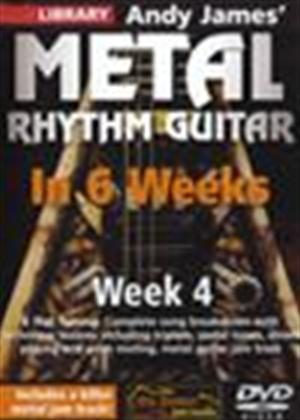 Rent Andy James' Metal Rhythm Guitar in 6 Weeks: Week 4 Online DVD Rental
