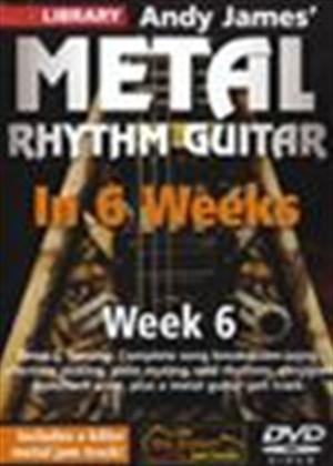 Rent Andy James' Metal Rhythm Guitar in 6 Weeks: Week 6 Online DVD Rental